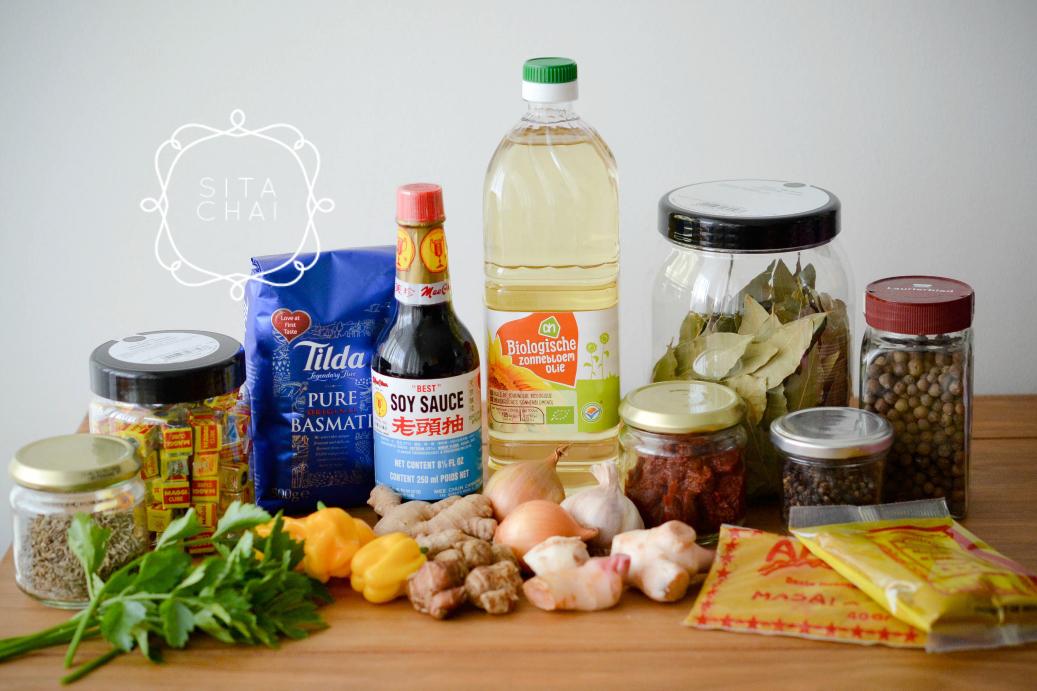 basisbenodigdheden Surinaamse keuken