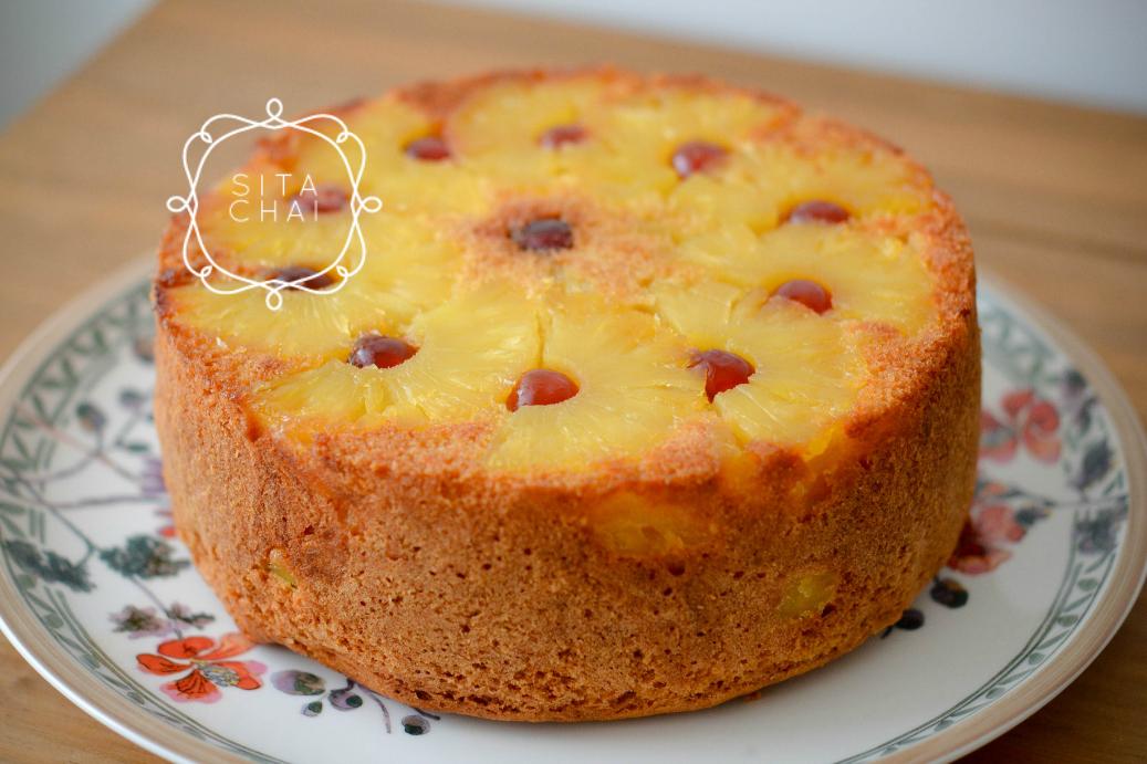 omgekeerde Surinaamse ananascake